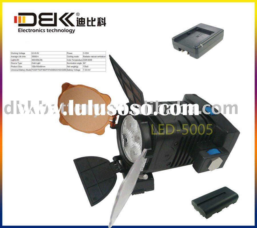 Video Light For Camera Video Camcorder DV Lamp LED 5005 NP-F550/570/750/930/950/960/970
