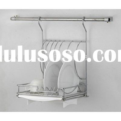 WALL DISH RACK,PLATE HOLDER,DISH DRAINER