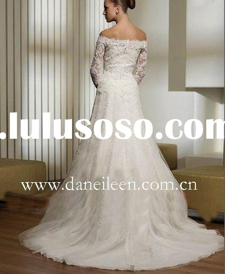 WR1731 Long Sleeve Wedding Dress Lace 2011