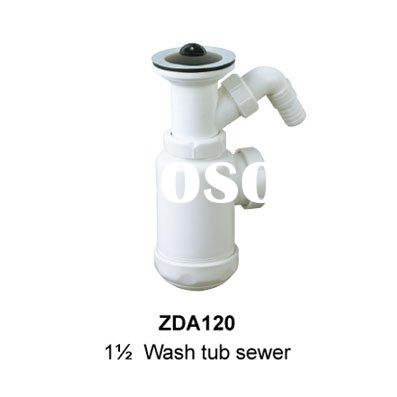 Wash Tub Sewer drain