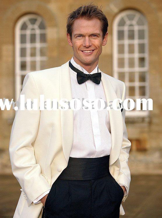 White Jacket Tuxedo Wedding White Tuxedo Jacket With Dress
