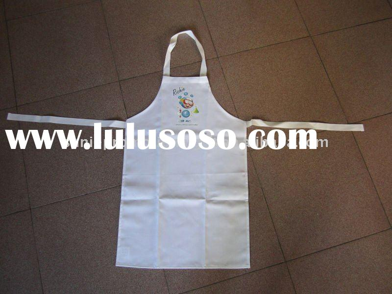 White aprons for kids promotion