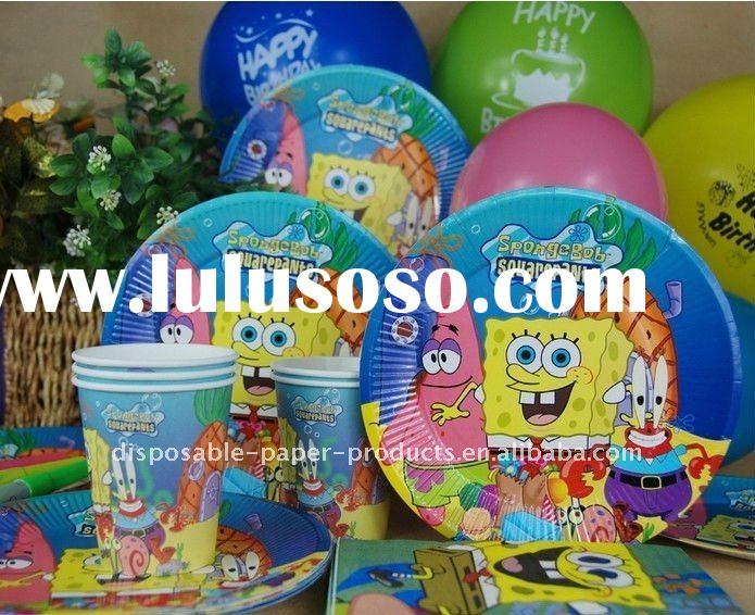 Wholesale Spongebob Party Supplies