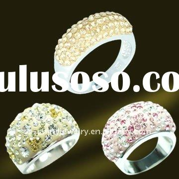 Wholesale crystal jewelery,engagement jewelry,925 sterling silver jewelry