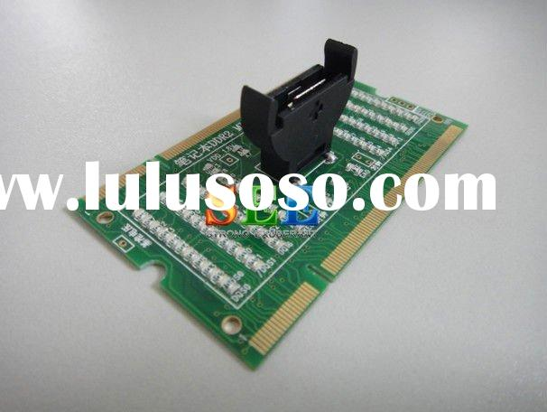 Wholesale notebook DDR2 tester RAM Memory Tester with LED RAM Memory Test Card