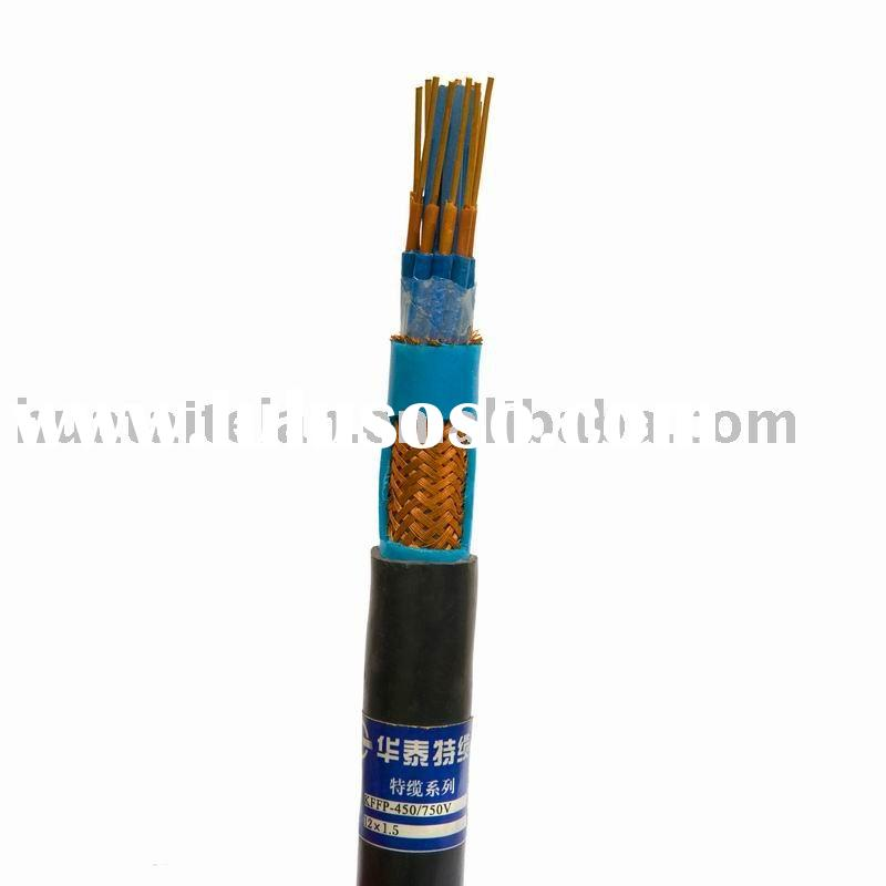 XLPE insulted copper wire braided Oil resistant Control cable