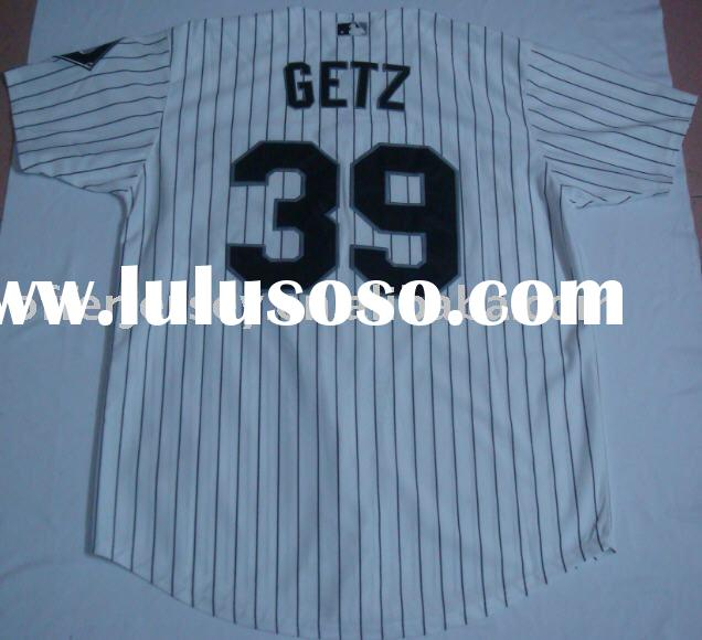 $21~$25-Baseball jerseys-Chicago White Sox #39 Getz authentic baseball Jersey-white-accept paypal
