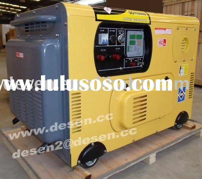 (ATS/digital panel,small bulk)10KW/12KW/15KW Air cooled silent diesel generator
