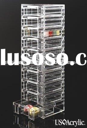 acrylic jewelry display box, acrylic drawer showcase, acrylic organizer, acrylic dispenser, acrylic
