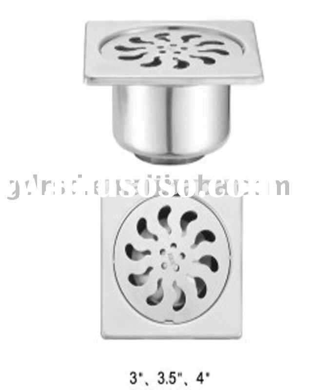 anti ordor stainless steel shower drain