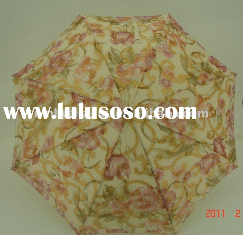 anti-uv umbrella two layer umbrella ladies umbrella embroidery umbrella