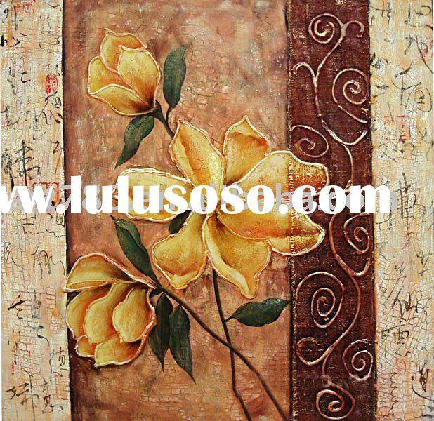 art and craft set,flower painting,modern art