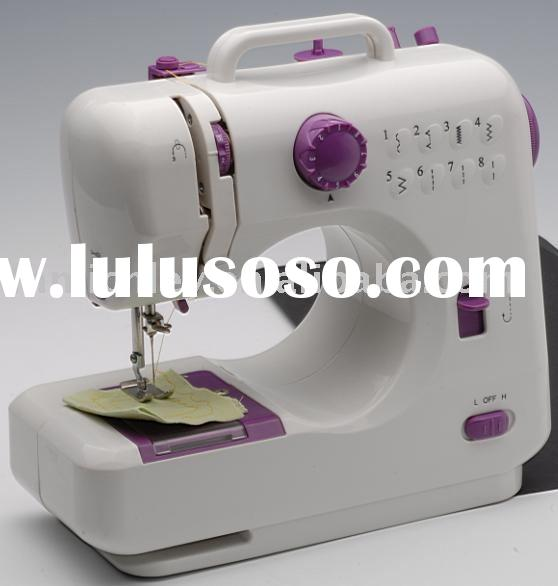 as seen on tv item,FHSM-505 compact &steady electric household sewing machine,8 stitches,CE,ROHS