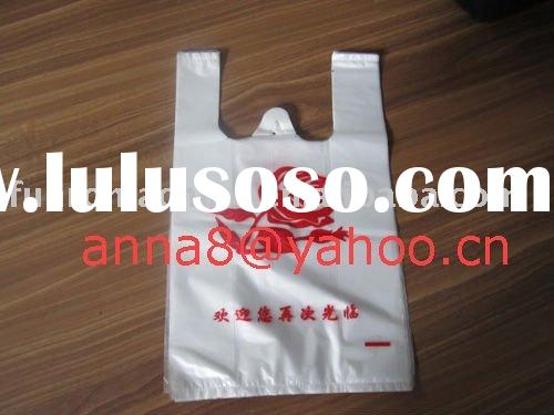 automatic double lines high speed plastic shopping bag making machine