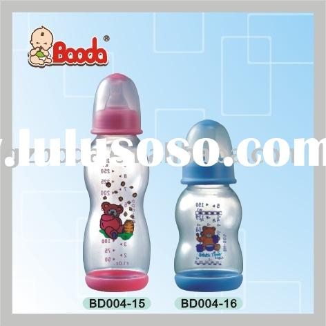 baby feeding bottles (milk feeding bottle ,baby bottle ,plastic baby milk bottle