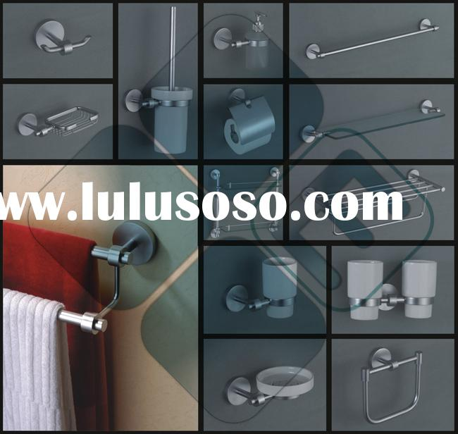 bathroom accessories/ fitting (robe hook/ tumbler holder/ soap holder/ paper holder/ towel ring/ tow