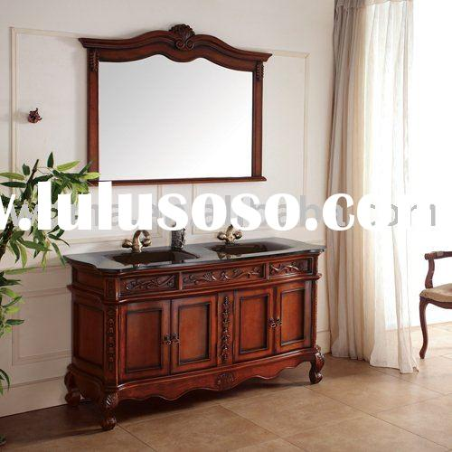 bathroom vanity cabinet ,wooden bathroom cabinet,antique bathroom cabinet2016D