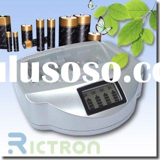battery charger RC999 for Non-rechargeable batteries and rechargeable batteries