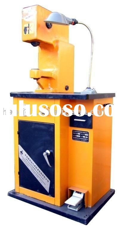 brake shoe riveting machine, can punch/ rivet/ press brake shoe /brake pad /brake disc/ brake lining