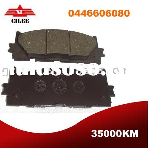 camry front highh quality non asbestos brake pad