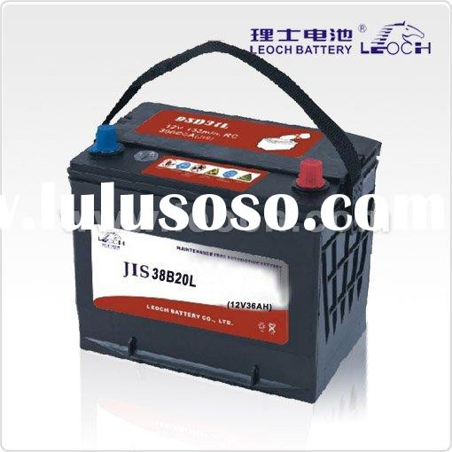 car battery maintenance free 36AH (JIS standard)