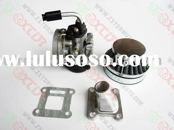 carburetor, air filter, intake pipe set for mini bike, mini pocket parts 47cc, 49cc