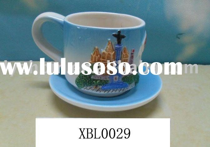 ceramic espresso cup and saucer