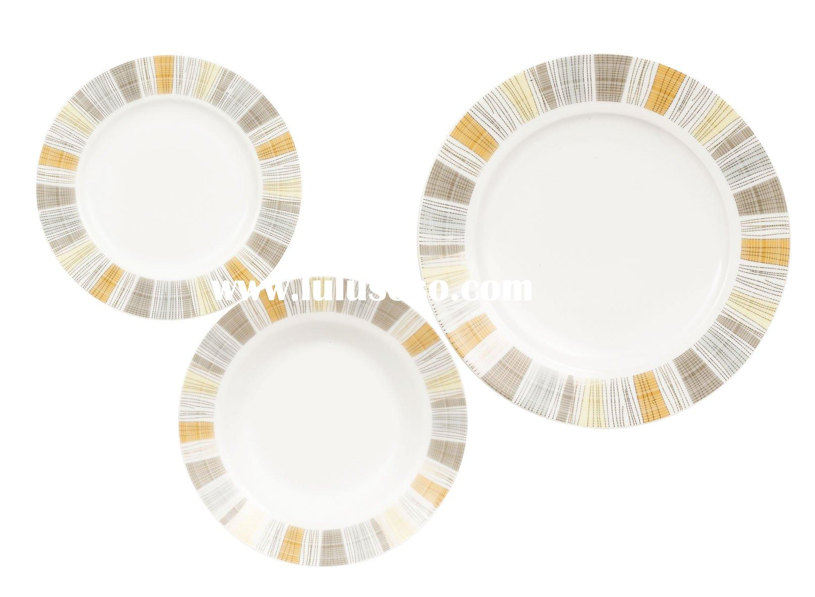 ceramic porcelain plates dishes