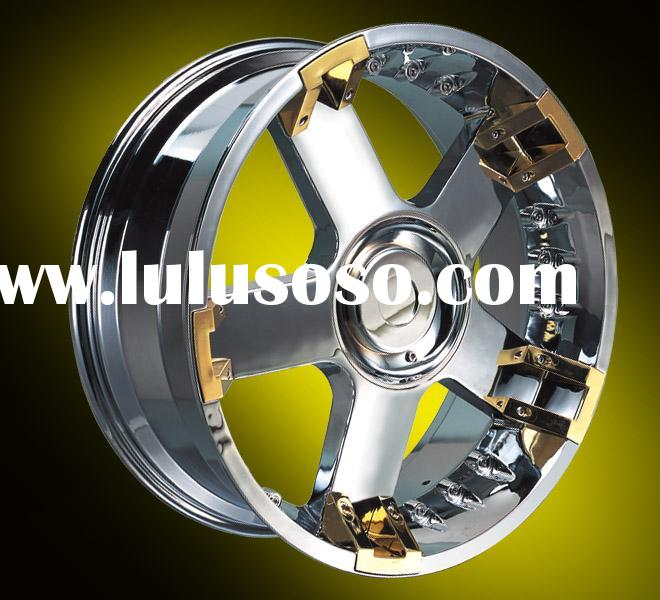 chrome alloy wheel
