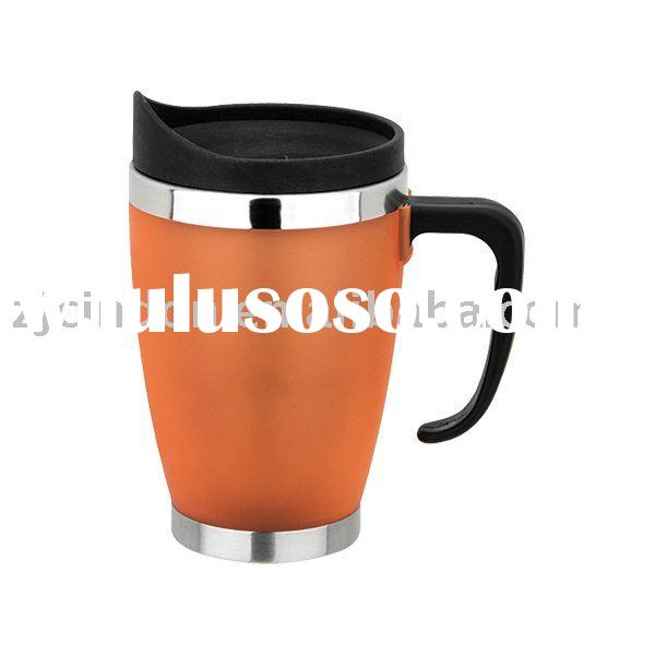 coffee thermos travel mug with stainless steel inner