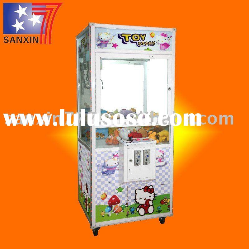 coin-operated doll crane vending game machine