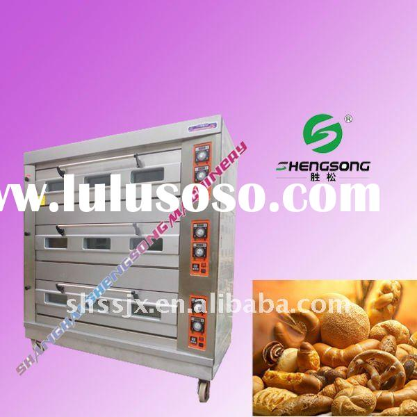 commercial double cake electric bread oven