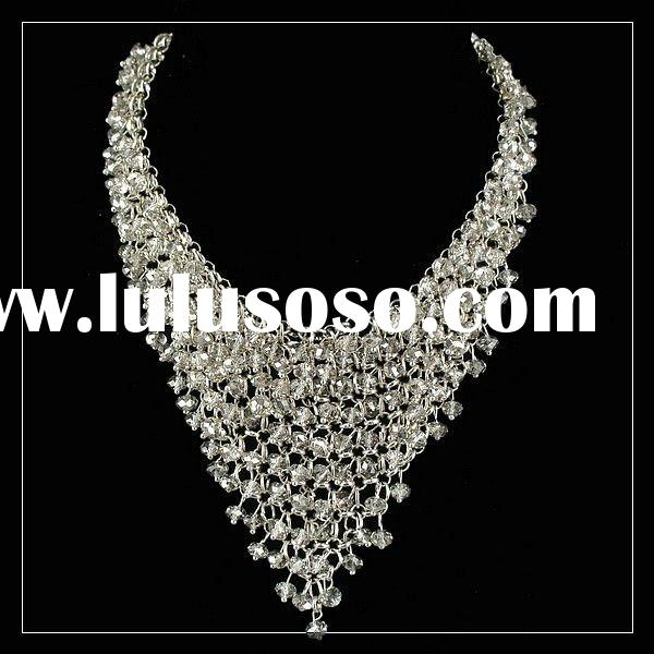 crystal jewelry,fashion handmade necklaces