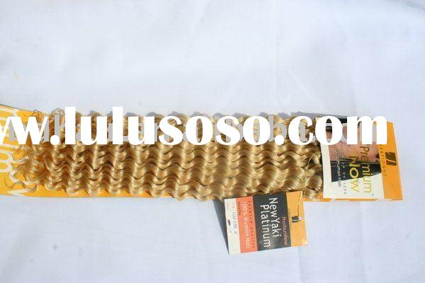 deep wave human hair weft extension remy hair