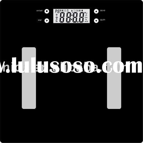 digital body health scale,body fat&water scale