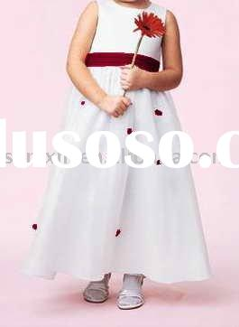 discount! flower girl dress promotion for international childen's dayFH1027