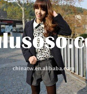 dl0115 Quality Wholesale Fashion Winter Ladies Wool Coat Winter