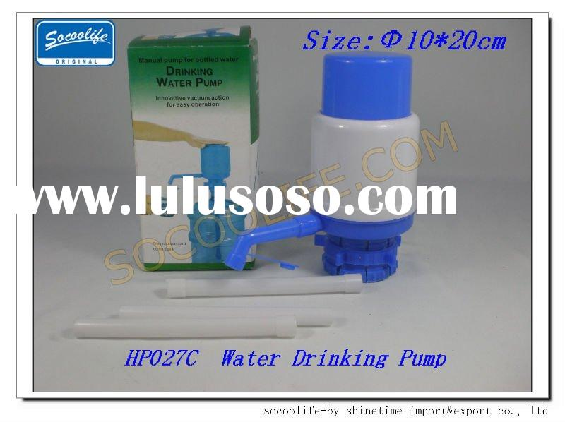 drinking water pump hand press water pump manual bottle water pump