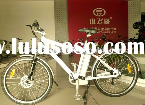 electric bike with alloy frame and lithium battery