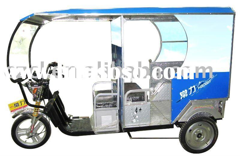 electric three wheel bike large size Approved load180kgTransmission ...