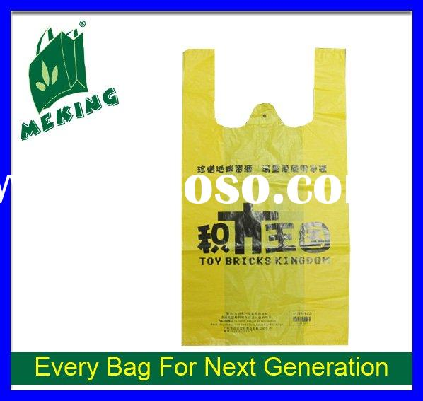 fashion plastic shopping bag
