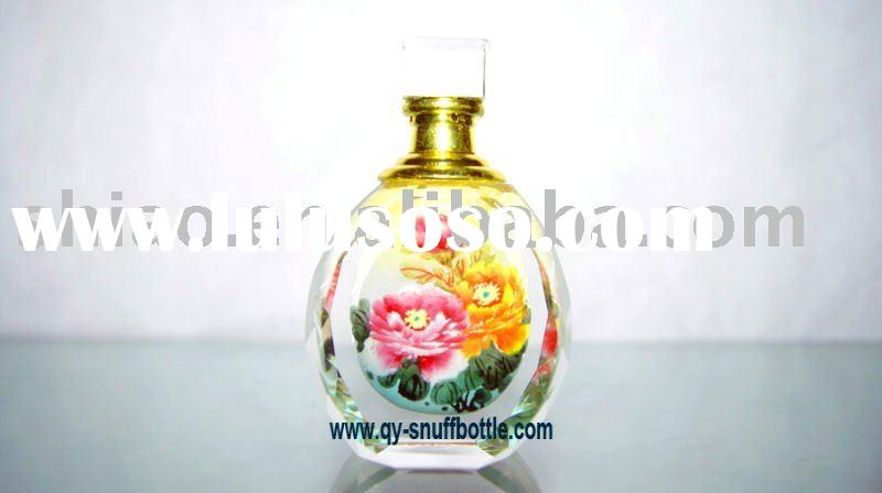 first rate k9 crystal scent bottle inside paint images of home decoration as perfume oil bottles on