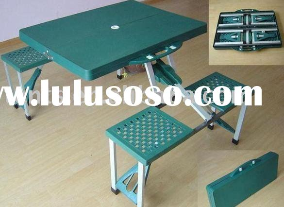 folding picnic table(camping picknick set, camping table , folding table , outdoor furniture,camping