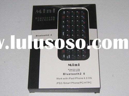 for iPad /iPhone 4.0 OS / PS3 / Smart Phone / PC / HTPC mini bluetooth keyboard