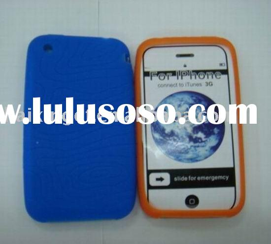 for iphone silicon case/cell phone silicon case/mobile phone spare parts for iphone