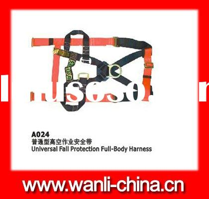 full body fall protection harness