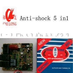 game accessories, game machine,slot machine, anti-shock 5 in 1, shock protector 9 in 1,spare parts