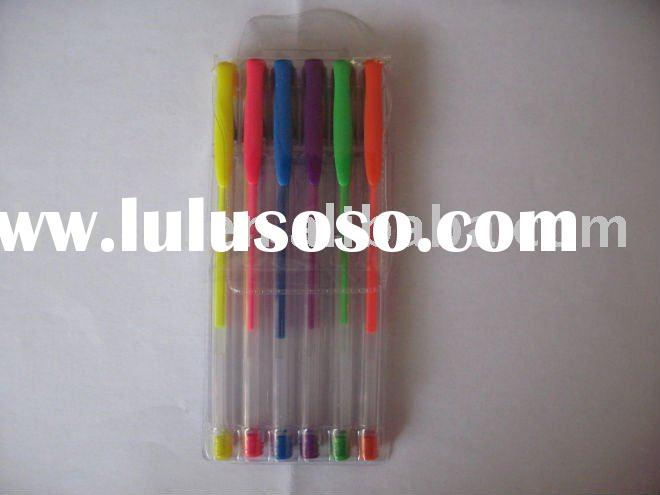gel ink pen set