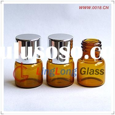 glass bottle, amber glass bottle,small glass bottle, tester glass bottle, cosmetics glass bottle