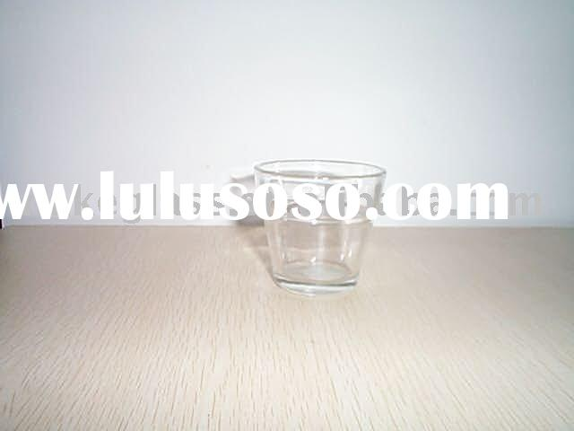 glass candle holder,glass candle cup
